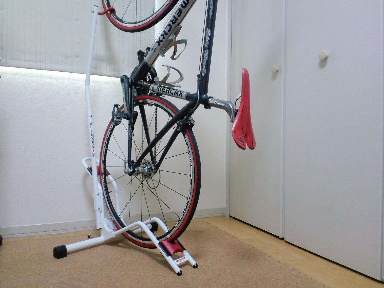 自転車用 自転車用 : 自転車室内保管用スタンド ...